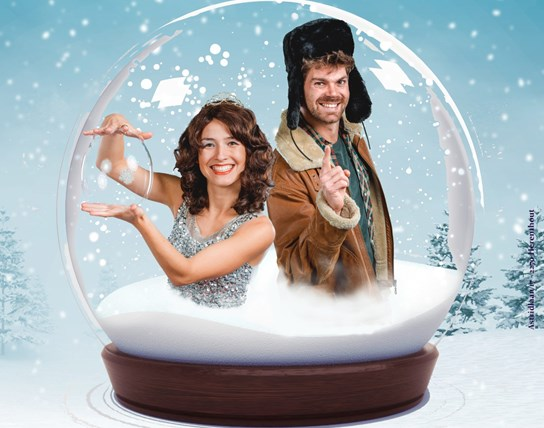 KINDERTHEATER Peter Hens & Anna Orlova | Wintershow for kids (3-8 jaar) - NIEUWE DATUM